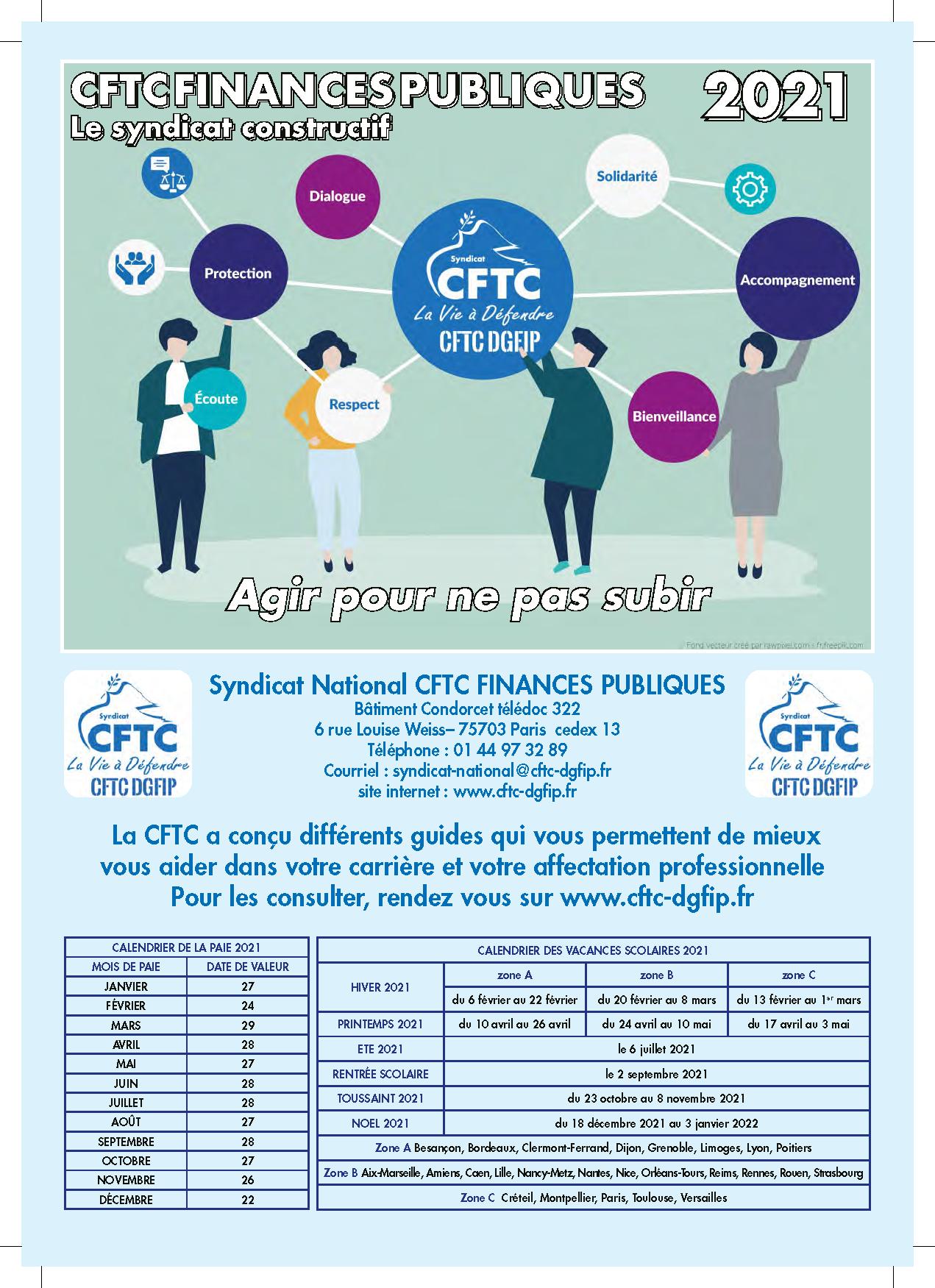 Image du mémento CFTC DGFIP 2021